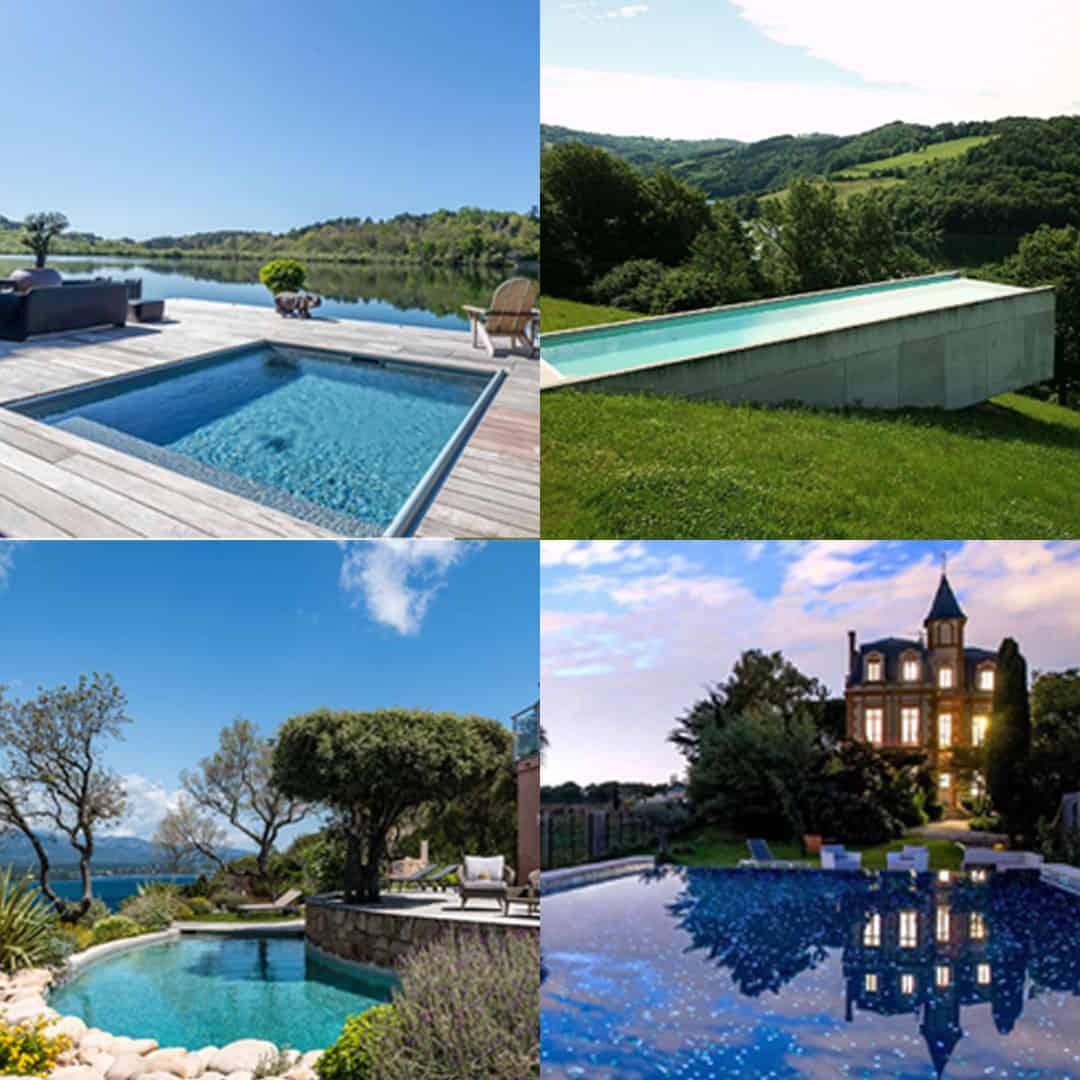 Le Top des plus belles piscines françaises de l'année 2018!