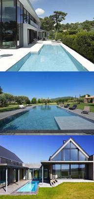 8èmes Trophées de la Piscine : catégorie piscine familiale de forme angulaire