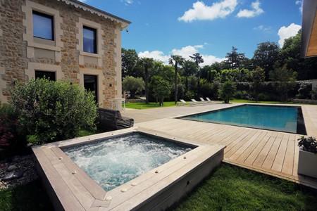 Goûtez aux bienfaits d'un spa chez vous...