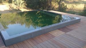 9èmes Trophées de la Piscine : catégorie piscine familiale de forme angulaire et couloir de nage