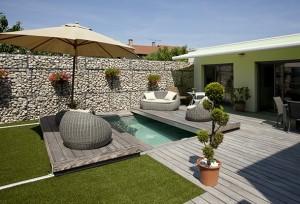 9èmes Trophées de la Piscine : catégorie piscine citadine inférieure à 30 m2 de forme angulaire