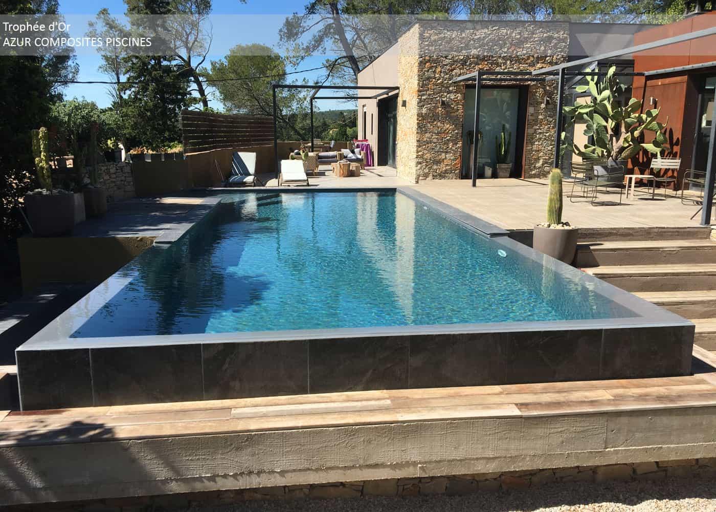 Découvrez les piscines lauréates de la catégorie rénovation des Trophées de la Piscine et du Spa 2018
