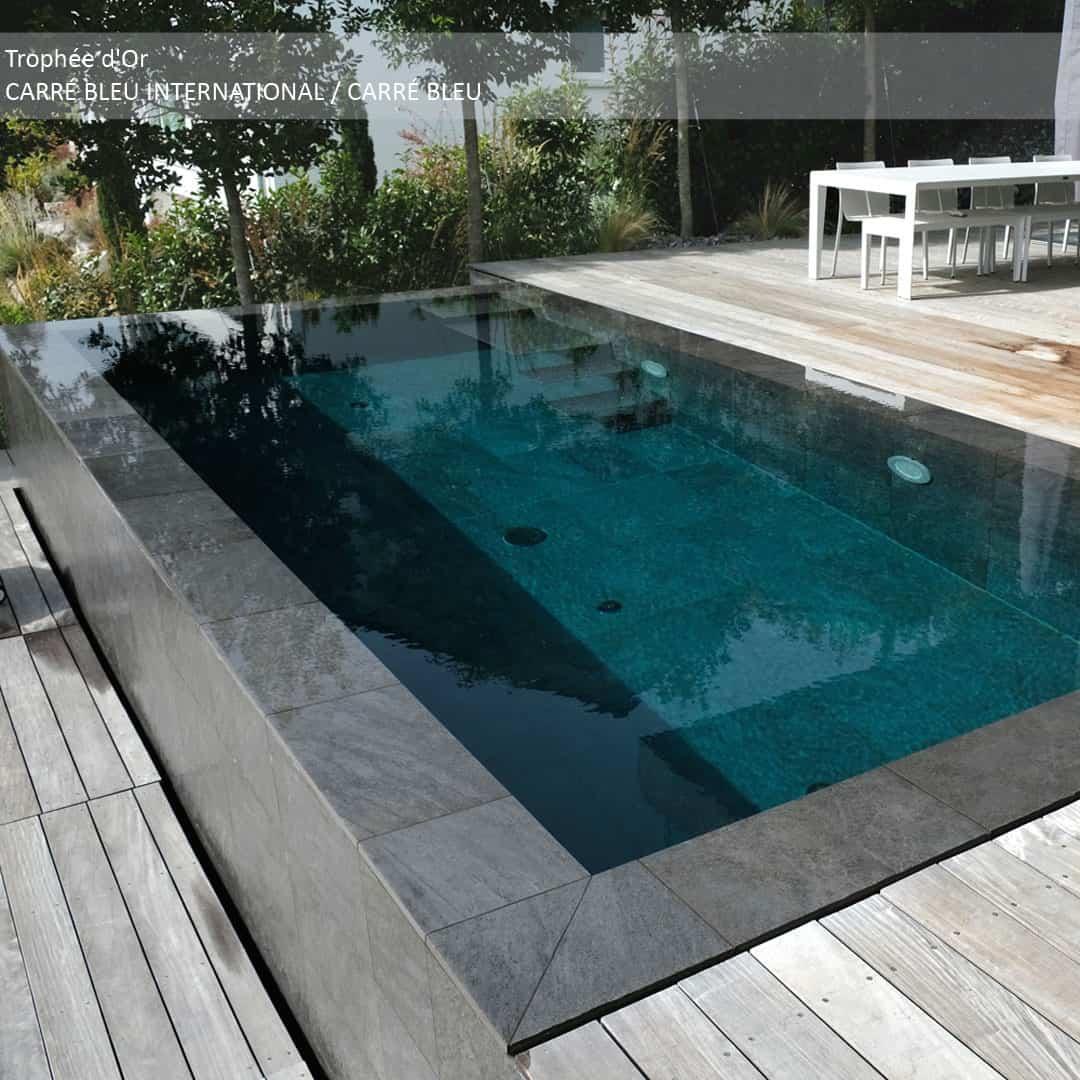 À découvrir les lauréats de la catégorie piscine installée à l'étranger des Trophées de la Piscine et du Spa 2018