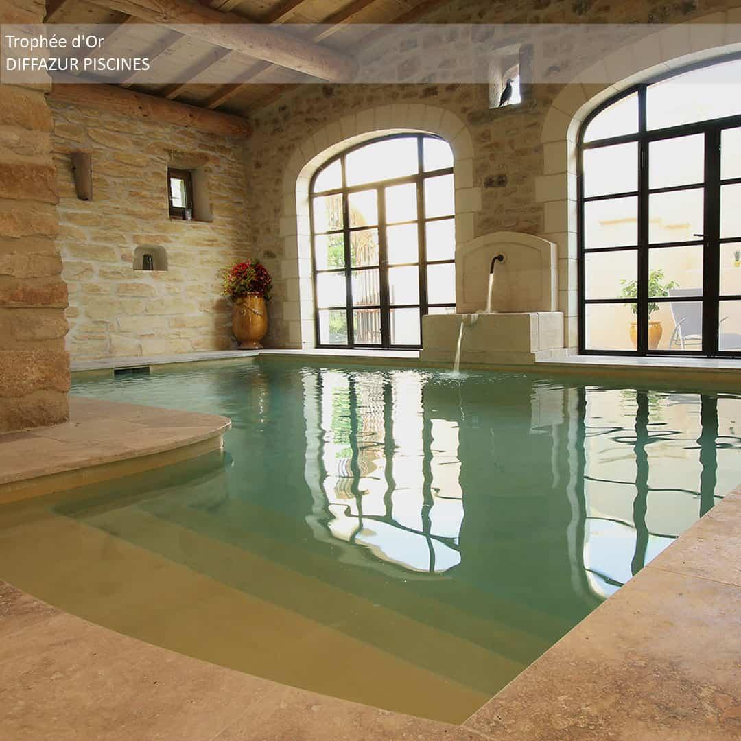 Découvrez en images les lauréats de la catégorie piscine d'intérieure des Trophées de la Piscine et du Spa 2018