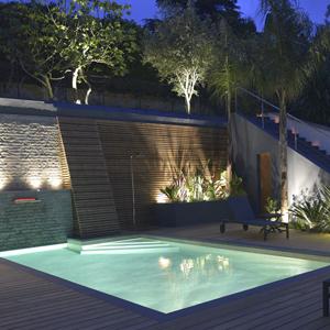 A découvrir, les piscines lauréates de la catégorie piscine de nuit des Trophées de la Piscine et du Spa