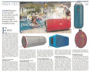 Vu dans Le Figaro d'hier : la piscine en musique !