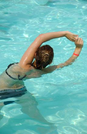 La piscine : une « thalasso » à domicile !