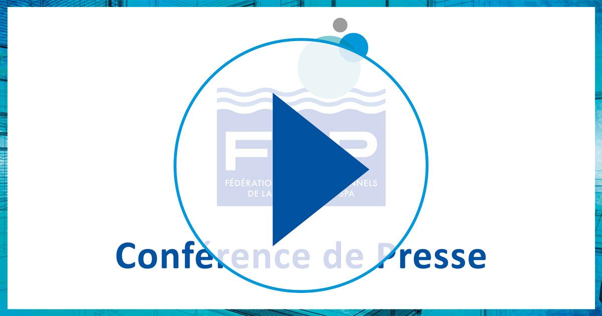 Jeudi 12 avril à 9h, en direct la Conférence de Presse des Professionnels de la Piscine