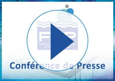 Jeudi 16 novembre, 9h : rendez-vous pour suivre en direct la Conférence de Presse des Professionnels de la Piscine