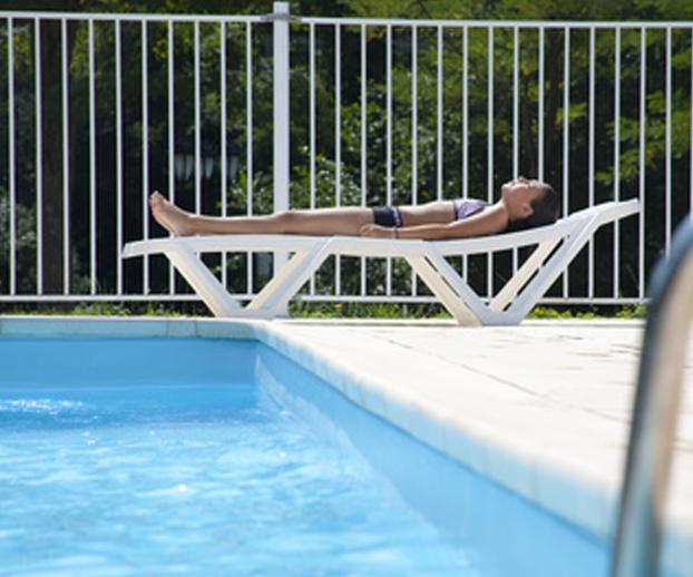 photo d'une barrière de piscine