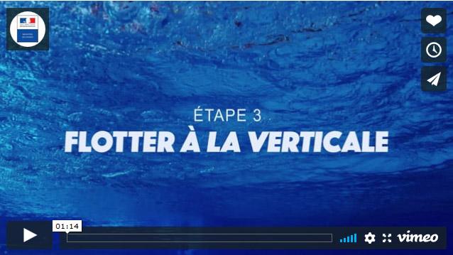Il s'agit de la première image du clip du Ministère des Sports où l'on voit un fond de piscine