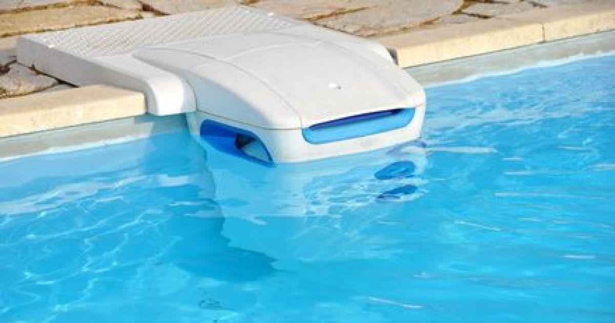 photo d'une piscine équipée d'une alarme détecteur d'immersion