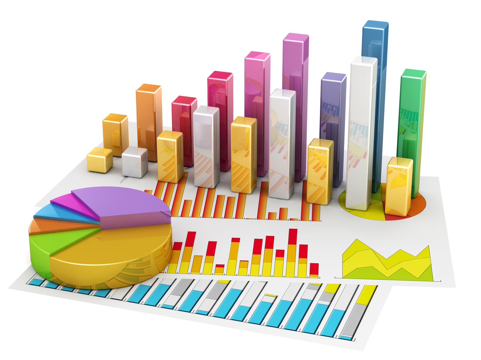 organigrammes représentant les chiffres des formations professionnelles du secteur de la piscine